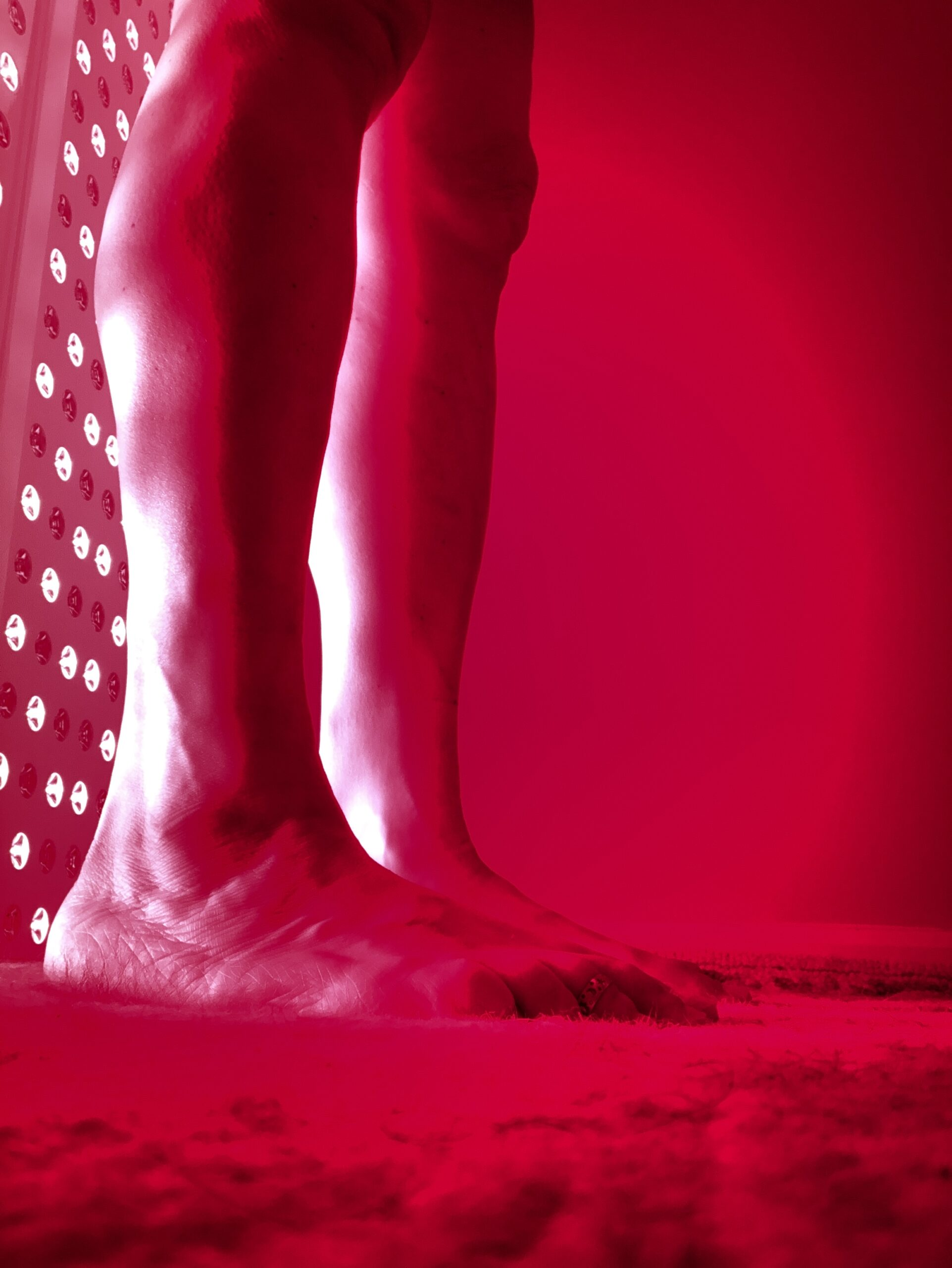 Red Light Therapy gives great looking skin and comfortable joints