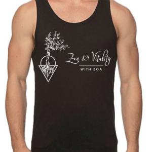 Zen and Vitality organic tank top