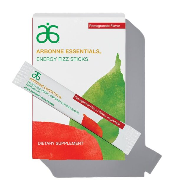 Arbonne B-Vitamin Fizzy Sticks