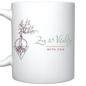 Zen and Vitality Logo Mug