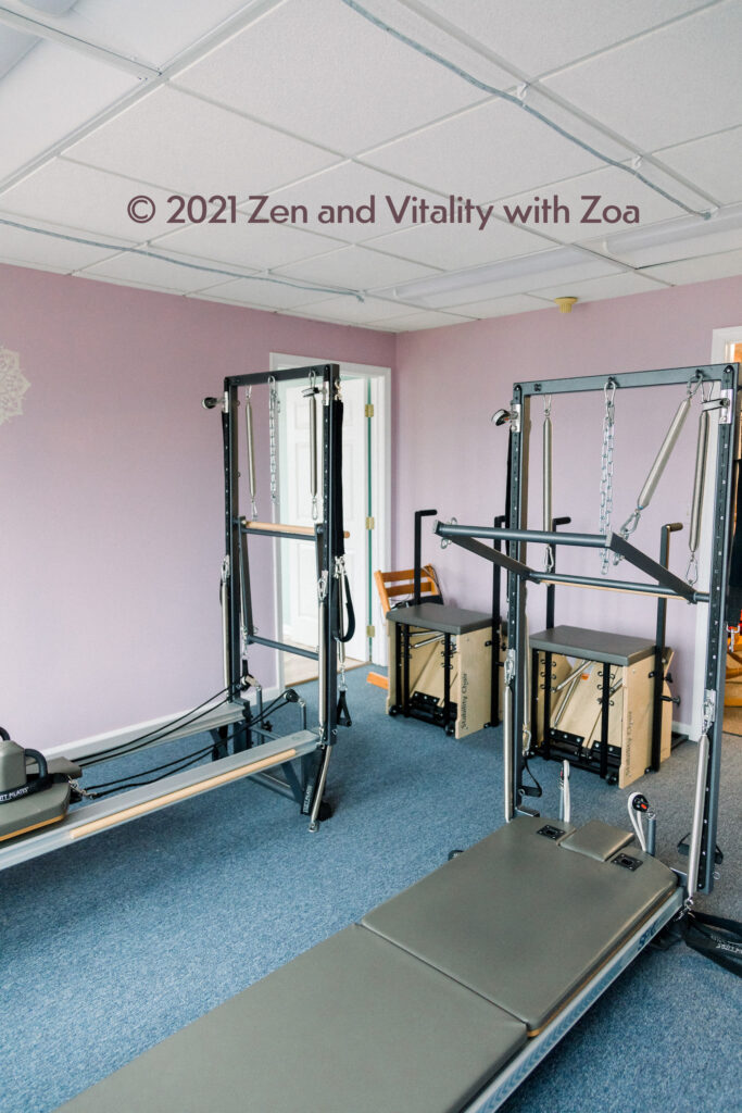 Pilates Equipment (Reformer, Tower, and Stability Chair) for 2 people at Zen and Vitality with Zoa
