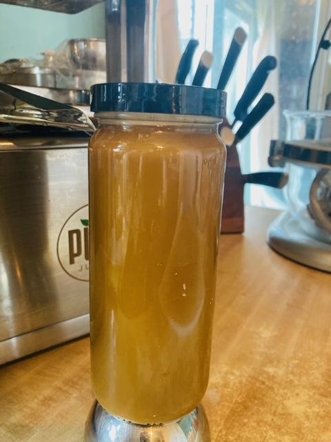 Carrot, Grapefuit, and Broccoli - raw juice