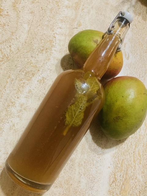 Mango Mint Kombucha