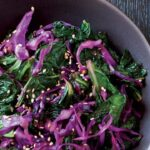 Sweet and Sour Asian Cabbage and Kale