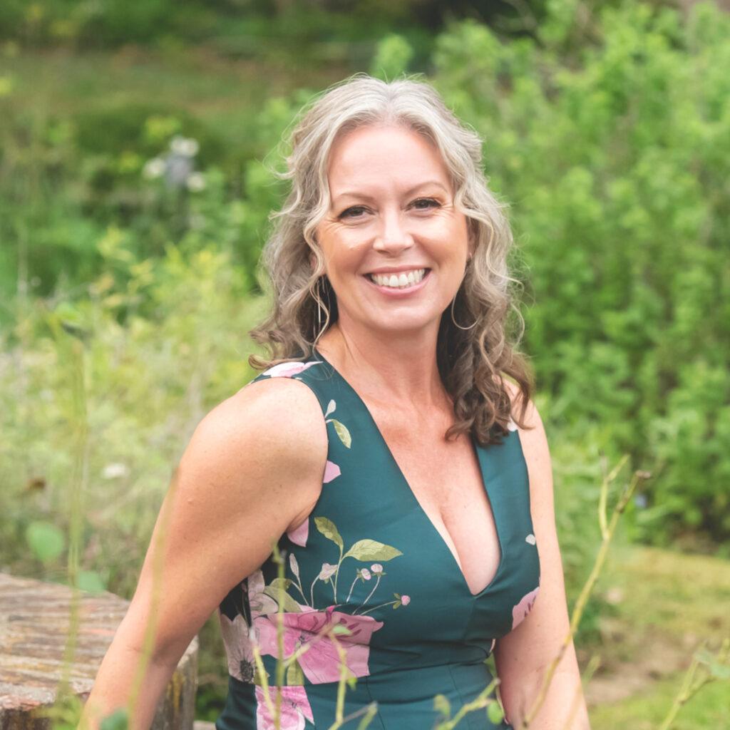 Barbara Evans immersing in nature for wellness