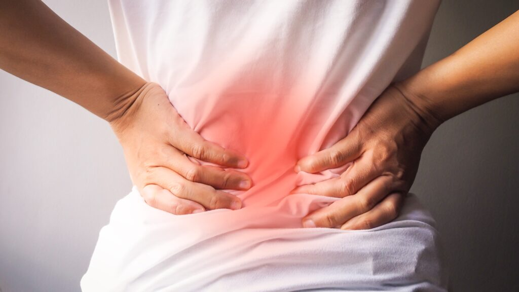 Chronic back pain asks for many pain relief tools - wellness lifestyle to the rescue!