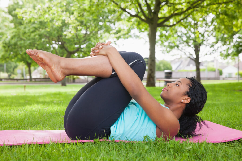 Pilates strengthens your core muscles to reduce chronic back pain