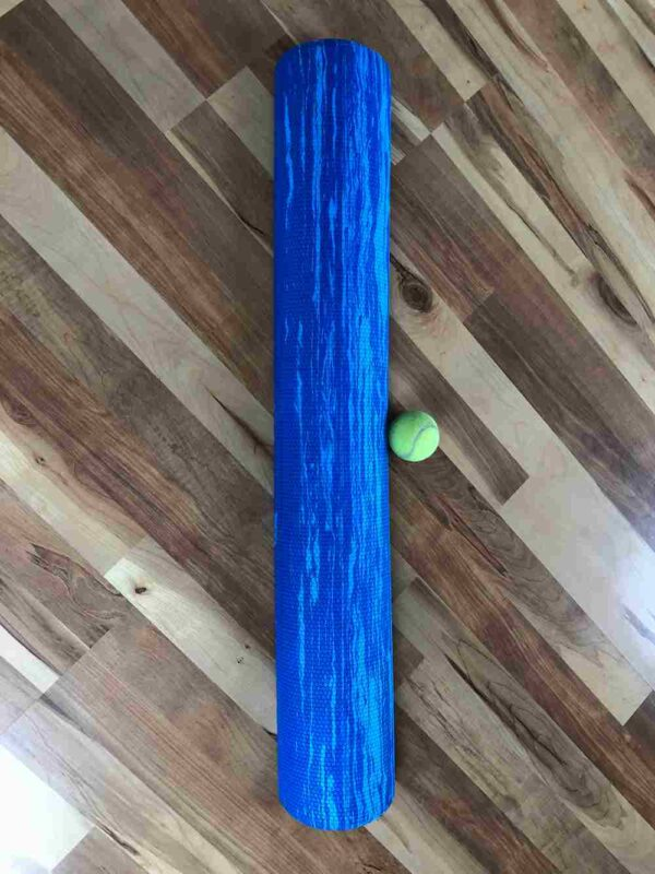 Soft Half Roller for Spinal Alignment and Abdominal Challenge