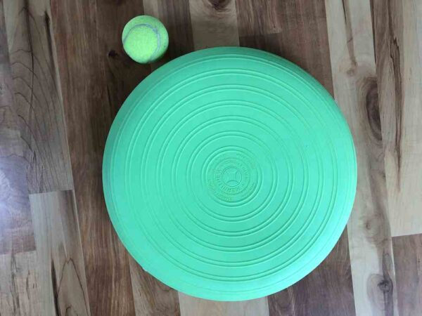 Green Stability Cushion for sitting or laying on